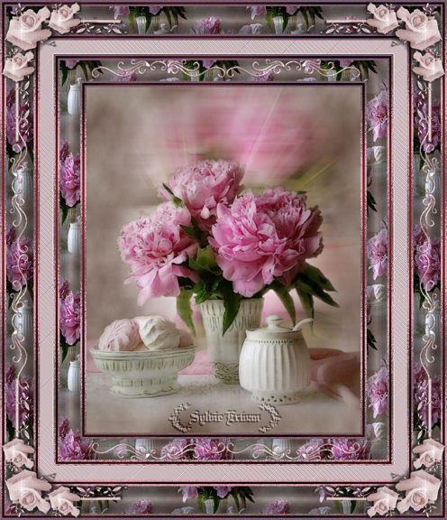Un bouquet de roses m'a dit..